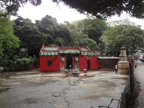 Temple of the Lords of the Three Mountains Ngau Chi Wan